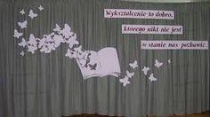 Znalezione obrazy dla zapytania dekoracje na uroczystości szkolne