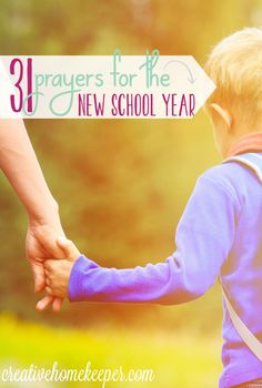 Praying Scripture is a powerful weapon we have to fight off anxiety and fear in the unknown. This prayer calendar for the school year is Scripture based and includes 31 days of prayer that can be customized and adapted for any school situation from public, private or homeschool. Download your free prayer calendar today and commit to praying every single day of the new school year!