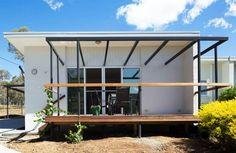 ต่อเติมบ้านเพื่อพ่อแม่ เชื่อมโยงจากบ้านหลังเดิม อยู่สบายเหมาะกับวัย «  บ้านไอเดีย แบบบ้าน ตกแต่งบ้าน เว็บไซต์เพื่อบ้านคุณ Modern Loft, Architectural Elements, Tiny House, Architecture, Building, Outdoor Decor, Garden, Home Decor, Arquitetura