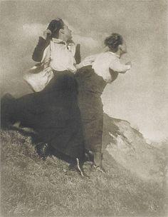 Wanderer by Heinrich Kühn, 1915