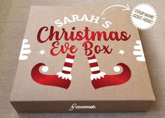 Personalised Gift Boxes with a big WOW Factor! Diy Christmas Eve Box, Cute Christmas Ideas, Diy Holiday Gifts, Personalized Christmas Gifts, Christmas Gifts For Kids, Christmas Activities, Christmas Projects, Christmas Time, Christmas Decorations