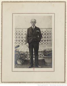 Maurice Ravel à Malaga en novembre 1928, lors d'une tournée en Espagne / Francisco Sanchez, Malaga
