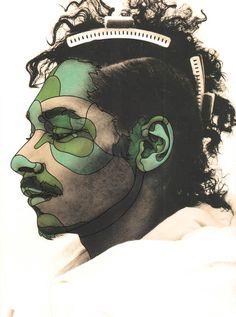 DAVID FLORES _ Snoop Dog Illustration