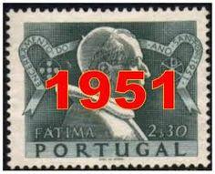 Resultado de imagem para filatelia 1951 - Papa Pio XII