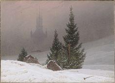 Winter Landscape from Friedrich -