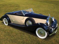 1933 Rolls-Royce Phantom III Roadster by Henley Rolls Royce Models, Rolls Royce Cars, Retro Cars, Vintage Cars, Antique Cars, Rolls Royce Phantom, Voiture Rolls Royce, Roadster Car, Automobile