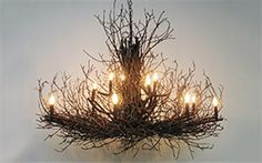 Briarwood Elite Twig Chandelier