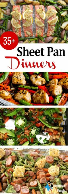 More than 35 delicious sheet pan dinners your family will love!