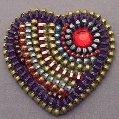 This brooch was written about on someone's blog in Turkish. How cool is that?