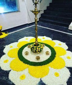 12 Types of Flower Rangoli Designs for different areas Rangoli Designs Latest, Simple Rangoli Designs Images, Rangoli Designs Flower, Rangoli Border Designs, Small Rangoli Design, Colorful Rangoli Designs, Rangoli Ideas, Rangoli Designs Diwali, Diwali Rangoli