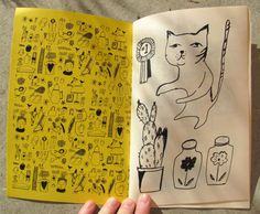 Hand Drawn Bazaar zine by ElizabethGraeber on Etsy, $6.00