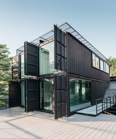 Container House Plans, Container House Design, Container Houses, Home Office Layouts, Home Office Design, Shiping Container Homes, Home Gym Basement, Workout Room Home, Home Design Living Room