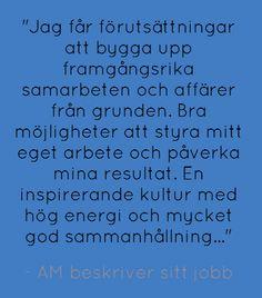Är du vår nästa AM i Linköping?