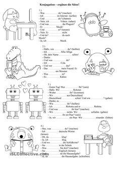 German Number Printout | German Worksheets for Children ...