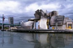 Guggenheim ( Bilbao )( on explore ) Frank Gehry, Guggenheim Bilbao, Mount Rushmore, Opera House, Spain, Mountains, Explore, Architecture, Building