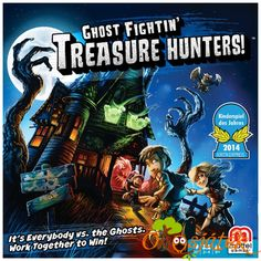 Ghost Fightin Treasure Hunters Board Game - Mattel - Games - Games at Entertainment Earth Best Family Board Games, Family Boards, Board Games For Kids, Family Games, Special Needs Toys, Hunter Games, Team Building Games, Mighty Girl, Cooperative Games
