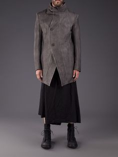 Julius Oversized Coat - H. Lorenzo - Farfetch.com