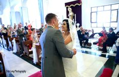 Wedding ceremony at Santo Domingo Church