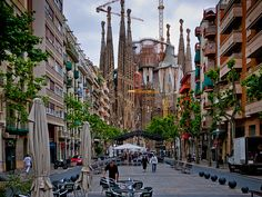 The Sagrada Família, Antoni Gaudí's unfinished masterpiece, is one of Barcelona's most popular tourist attractions. Construction on this church will continue for at least another decade, but it has already become Barcelona's most important landmark.