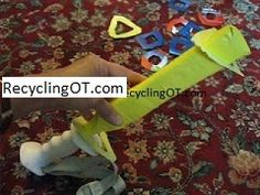 """The Recycling Occupational Therapist: """"Success-Only Activities"""" Help Develop Hand Skills"""
