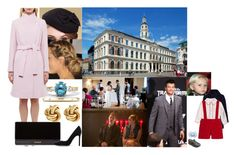"""""""Attending the civil wedding ceremony of Princess Elizabeth of Latvia and Mr. Jons Sarfas at the Town Hall in Riga"""" by dana-avots ❤ liked on Polyvore featuring Paul Smith, Fornash, Balmain and Gianvito Rossi"""