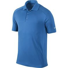 Nike Golf Mens Victory Polo Photo BlueWhite L