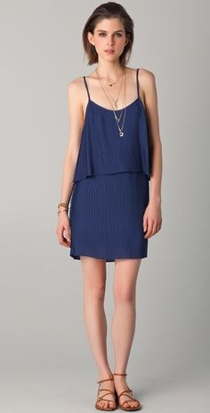 Parker Pleated Dress - StyleSays