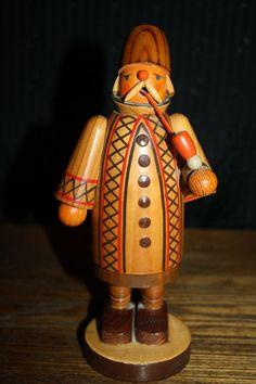 Erzgebirge Wood Figures Made In German Democratic Republic(East Germany)