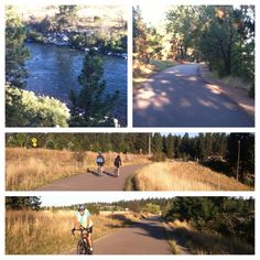 Scenes from the Centennial Trail, the Spokane Valley section, September 2013. My hotel, Oxford Suites, was right next to the trail, so I walked to my meeting.