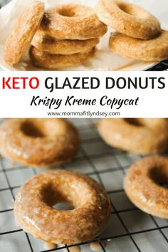 Keto Donuts Recipe make for an easy keto snack. These low carb donuts are an easy keto dessert with delicious keto icing. Ketogenic Diet Meal Plan, Ketogenic Diet For Beginners, Ketogenic Recipes, Low Carb Recipes, Protein Recipes, Diet Menu, Healthy Recipes, Healthy Meals, Smoothie Recipes