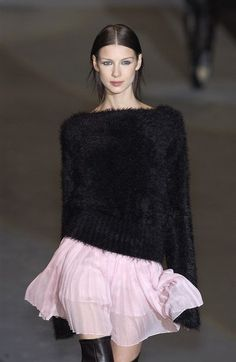 Sportmax at Milan Fashion Week Fall 2003.