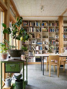 DELIN ARKITEKTKONTOR Ceramic Workshop, Interior Architecture, Interior Design, Compact Living, Scandinavian Home, Prefab, Small Apartments, Villa, Design Inspiration
