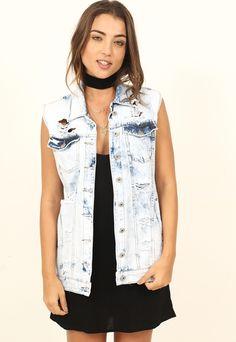 Colete Maxi Jeans