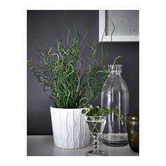 "FEJKA Artificial potted plant  - IKEA $5.99 (4"")"