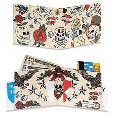 Mighty Wallet, Billfold Wallet, Designer Wallets, Diy And Crafts, Bags, Tattoo, Handbags, Tattoos, Bag