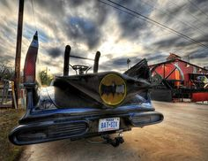 Found the #Batmobile on a #Texas #roadtrip. from #treyratcliff at www.StuckInCustom... - all images Creative Commons Noncommercial