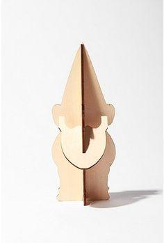 Wood DIY Gnome