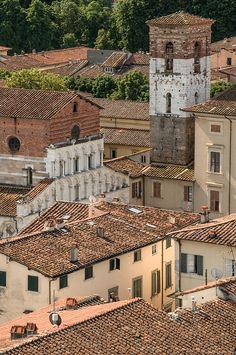 Lucca, Tuscany Italy  http://weathertightroofinginc.com #rooftile #decorativerooftile #rooftiles