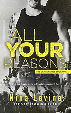 Release Blitz: All Your Reasons By: Nina Levine Best Kindle, Free Kindle Books, Amazon Kindle, Will Sparks, Books To Read, My Books, Book Authors, Romance Books, Bestselling Author