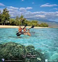 Places to visit Island Beach, Small Island, Voyage Reunion, Outre Mer, Mauritius Island, I Love The Beach, Vacation Destinations, Vacations, France