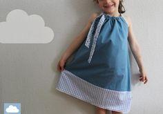 """Einschulungskleid """"Inga"""" Festkleid von kleine Wölkchen auf DaWanda.com"""