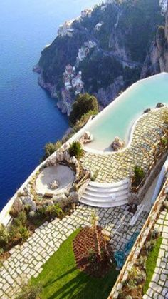 Actually not sure I could ever bring myself to go there...eeks.  Amalfi, Italy
