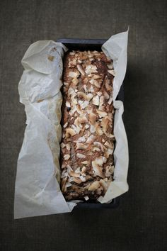 Banana + Coconut Bread : The Healthy Chef – Teresa Cutter
