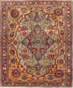 Antique Mohtashem Kashan Persian Rug 47047 Nazmiyal - By Nazmiyal