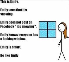 Be like Emily
