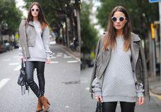 The Grey Jacket (by Zina CH) http://lookbook.nu/look/4500429-The-Grey-Jacket