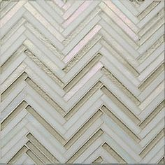 Oceanside Glasstile Avani Herringbone.  Delish