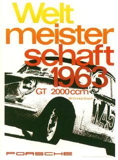 Porsche 1963 Weltmeisterschaft