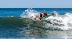 Waves and Wildlife in Costa Rica - actually LEARN to surf.