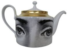 Fornasetti+Teapot+|+Guilty+Pleasure+|+One+Kings+Lane